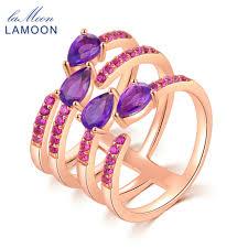 rose gold wedding set amethyst online get cheap amethyst bridal jewelry aliexpress com alibaba