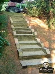 Backyard Steps Ideas Landscape On Slope Landscape On Slopes Landscape Steps On A