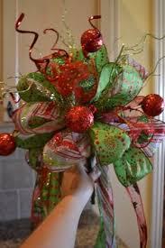how to make a funky bow christmas edition christmas decor
