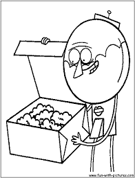 regular show coloring pages free printable colouring pages