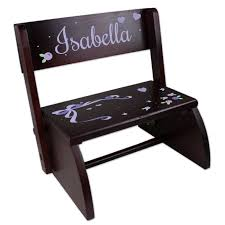 personalized kids step stools simplyuniquebabygifts com free