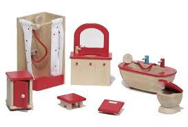 Dolls House Bathroom Furniture European Design Classic Dollhouse Toys Blueberry Forest Toys
