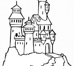 unique coloring castle 48 drawings coloring