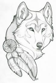 cool drawing ideas for beginners wolf drawing dr odd drawing