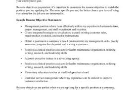 entry level resume objective statements entry level resume