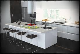 Interiors Kitchen Black And White Kitchen Island Modern Interiors Log Cabin Interior
