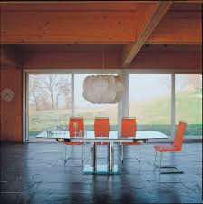 Extendable Glass Dining Table Contemporary Dining Table Glass Nabucco By Bacher Die Collection