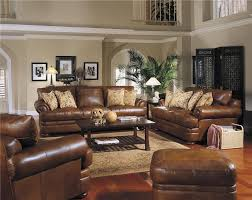 Leather Living Room Furniture Sets Furniture Complete Your Living Room Decor By Using Klaussner