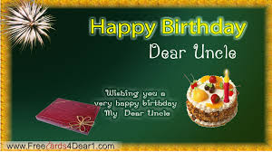birthday greeting for dear uncle greeting cards