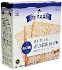 gluten free passover products yehuda gluten free matzo style squares original kosher for passove