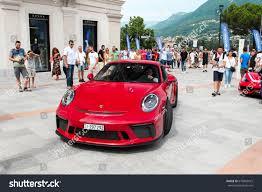 porsche gt3 red lugano switzerland 090717 red porsche 911 stock photo 679863415