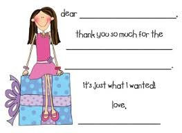 design your own family fill in thank you note cards customlabels4u