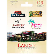 darden restaurants gift cards darden 25 gift card valid at multi restaurants umbc bookstore