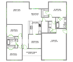 3 bedroom 2 bathroom bungalow floor plan erinsawesomeblog