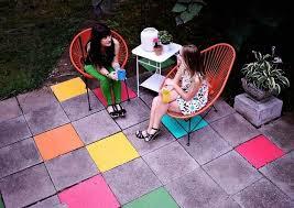 Outdoor Floor Painting Ideas Diy Ideas Outdoor Summer Diys
