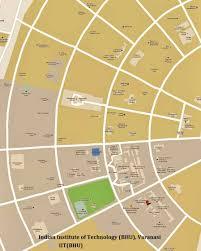 Varanasi India Map by Iit Bhu Varanasi Map 2017 2018 Student Forum