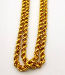 rope necklace designs images 22k yellow solid gold chain rope design and 50 similar items jpg