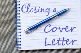 closing a cover letter to get results