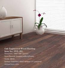 antique burnt oak engineered wood flooring antique burnt oak