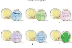 lip balm favors baby christening personalized lip balm favors christening favors