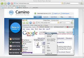 camino browser camino per mac