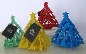 christmas cards sale handmade 3d christmas tree cards for sale chewingonit s