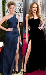 amber heard flashes angelina jolie leg on the red carpet at the