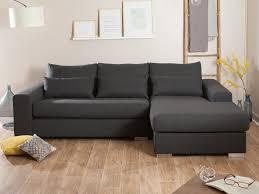 coussin deco canape canapé tissu déhoussable d angle fixe clemence gris