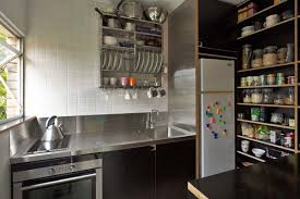 Small Kitchen Interior Design Ideas Small Square Kitchen Interior Design Idea With Effective