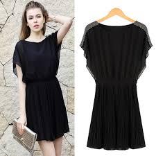 fashion blog black dress casual