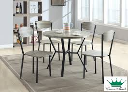 blake 5 piece round dinette set dining rooms clearance