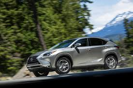 lexus nx hybrid towing lexus nx 200t in the red compact luxe utility class bonus