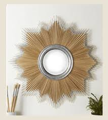 decorative mirrors large wall mirrors round mirror unique