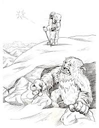 printable bigfoot coloring pages virtren com
