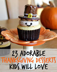 23 and festive thanksgiving desserts that everyone will