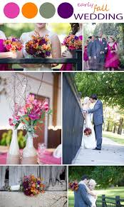 fall colors for weddings best 25 september wedding colors ideas on october