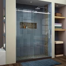 nickel shower doors showers the home depot