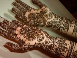 henna tattoo for hands design