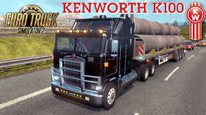 Kenworth K100 Interior Euro Truck Simulator 2 Mod Truck Kenworth K100 Youtube
