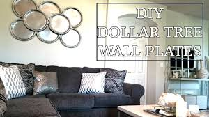 Home Decor Tree Dollar Tree Diy Wall Plates Diy Home Decor Design On A Dime Faux