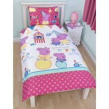 Peppa Pig Bed Set by Kids Character Duvet Cover Sets Official Bedding Frozen Avengers