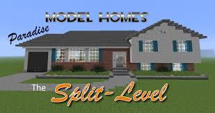 Split Level Houses Paradise Model Homes The Split Level Minecraft Project