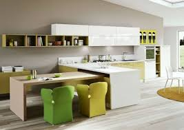 kitchen island table combination l shaped kitchen table with black granite countertop kitchen