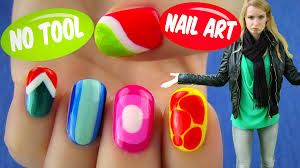 no tool nail art 5 nail art designs u0026 ideas without any nail art