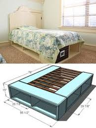 Queen Size Platform Bed Designs by Cheap Easy Low Waste Platform Bed Plans Platform Beds