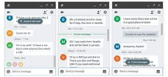 hangouts apk hangouts redesigns the unread message indicators apk