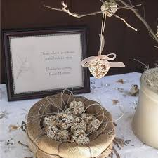 bird seed wedding favors ideas for eco friendly wedding favors