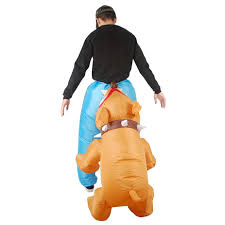 Inflatable Halloween Costumes Inflatable Biting Dog Halloween Costume The Green Head