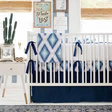 aztec baby blanket navy crib blanket baby boy blankets