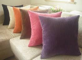 china velvet replacement sofa seat cushions purple orange